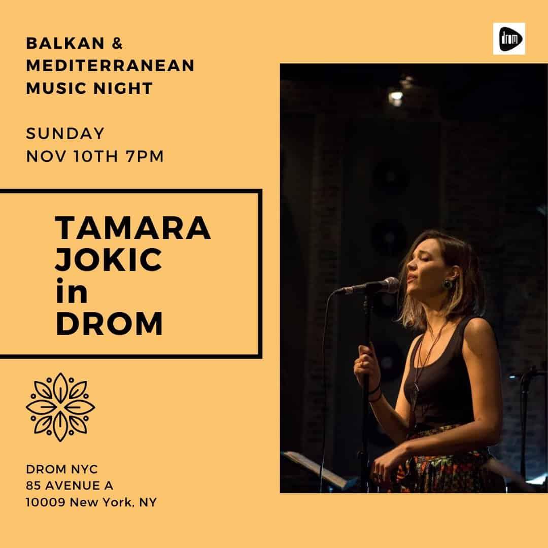 Tamara Jokic In DROM-u